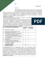 Pauta Evaluación Trabajo Escrito y Disertacion i Medio