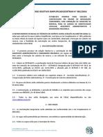 Edital Processo Seletivo Simplificado Detran 001-2016