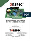 Torsepc 5001TCP Manual 09'29'2003