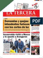 Diario La Tercera 14.06.2016