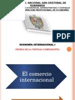 Diapositivas Ventaja Comparativa