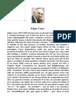 Edgar Cayce bio