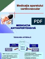 Curs 5 Medicaţia antihipertensivă