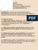 Aulas de Medica Legal