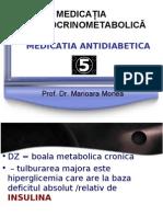 Curs Antidiabetice Tiroidiene Antitiroidiene Prof Monea