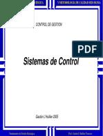 D) Sistemas de Control 2005