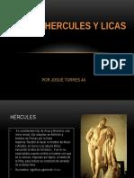 Hercules y Licas