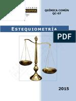 QC07 - Estequiometría