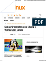 Compartir Carpetas Entre Ubuntu y Windows Con Samba » MuyLinux