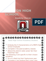 academy choices