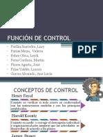 Función de Control1
