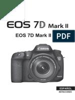 EOS 7D Mark II Instruction Manual ES