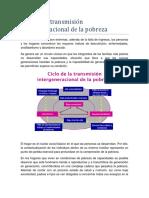 1.2. Ciclo de La Transmisión Intergeneracional de La Pobreza Final