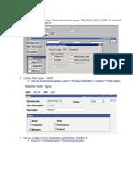 Milestone Notification Process Setup Instructions