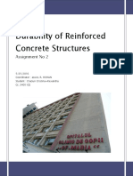 Durability of RC Concrete Structures