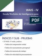 WAIS IV Descripción