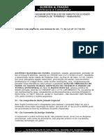 Ação de Obrigação de Fazer - Danos Morais - Repetição de Indébito - Tutela Antecipada - Antônio Oliveira