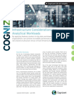 Infrastructure Considerations for Analytical Workloads