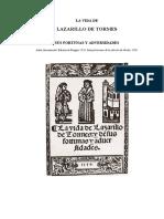 Lazarillo Texto