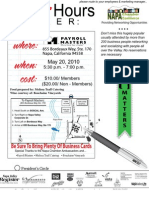 May 20, 2010 Mixer hosted by Payroll Masters