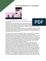 koppeling van thema met agogiek en psychologie a