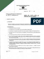 Directiva Policia Animales