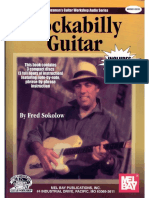 rockabilly guitar by fred sokolow