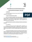 Informe alternativo para el Comité de Derechos Humanos