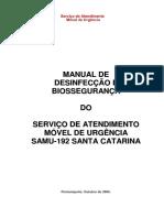 Manual de Desinfeccao e Biosseguranca
