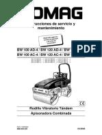 [2] [4] [5] 04.2008 - BW 100 AD4 Manual de Operador