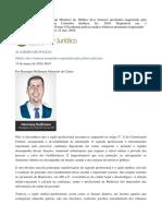 Requisição de prontuário médico pela polícia judiciária - Henrique Hoffmann