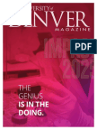 University of Denver Magazine Spring 2016