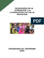 Las Tecnologías de La Información y La Comunicación 1