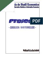 Proiect Analiza Sistemelor