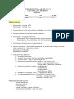 Examen Biochimie Farmacie Iii_sem II 2015-2016