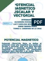 POTENCIAL ESCALAR MAGNETICO