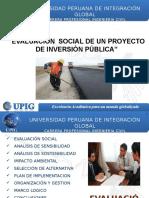 Clase13-Evaluacion Social de Un Proyecto