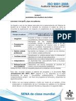 Generalidades de La Auditoría de Calidad