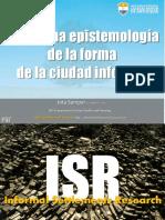 Hacia Epistemologia Form Ciudad Inform