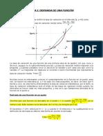 1º Bachillerato matemáticas