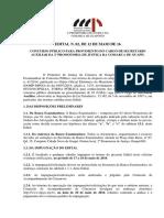 DiretoriaGeral_Edital Secretario Auxiliar Guapó