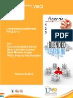 Lineamientos Academicos 2016 Viaci - Agenda de Acompañamiento Docente