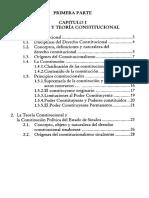 Derecho y Teoria Constitucional