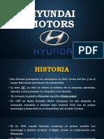 Hyundai Motors Análisis Estratégico