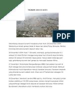 Bencana Tsunami 2004 Di Aceh