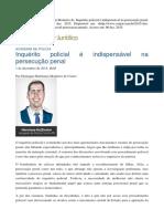 Indispensabilidade do inquérito policial - Henrique Hoffmann