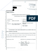 Amber Heard - Johnny Depp court documents