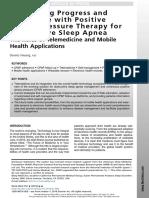 Sleep Telemedicine