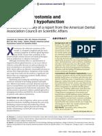 Managing Xerostomia and Salivary Gland Hypofunction