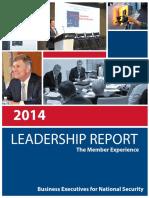 2014 Leadership Report